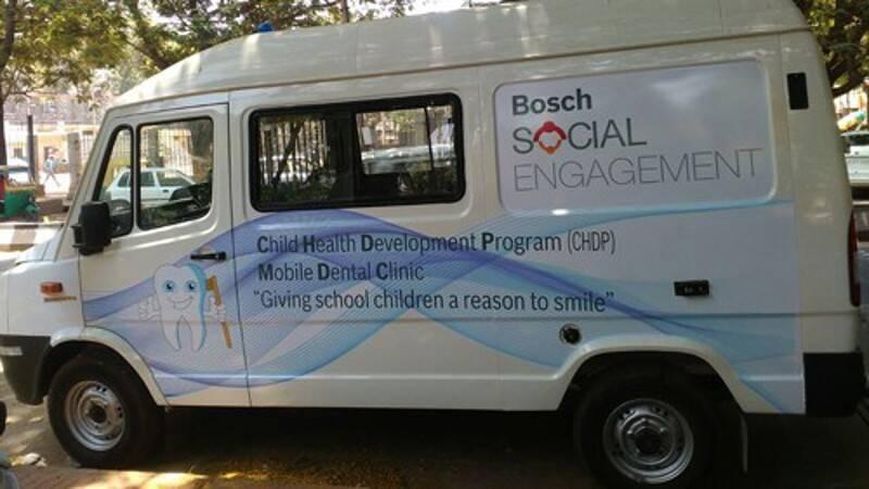 Health, Hygiene & Education | Bosch in India
